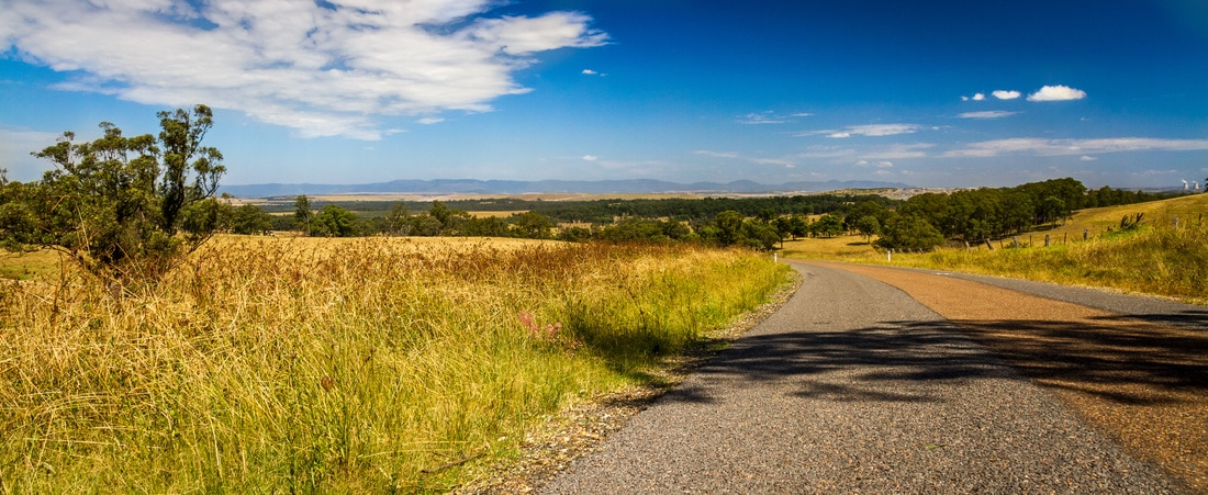 Landscape photography country road