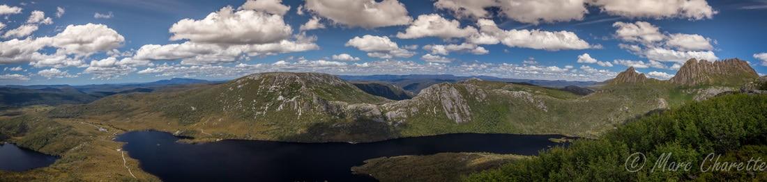 Landscape photography mountain panorama