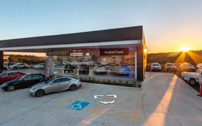 Managing Reflections in 360: Lexus Of Central Coast Virtual Tour